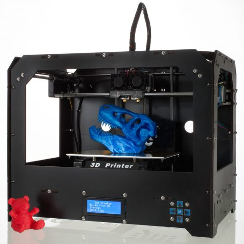 Black 3d Printer for Makerbot Replicator 2