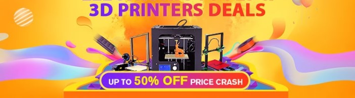 3D Printers Massive 50% Off Price Crash