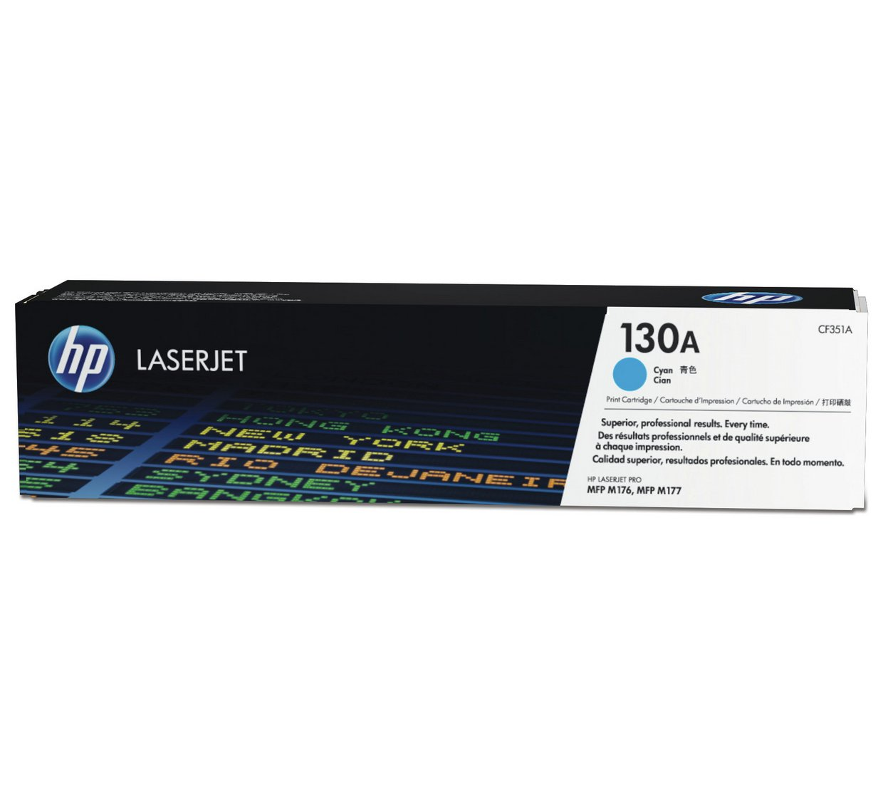 HP 130A CF351A Original Cyan LaserJet Toner Cartridge