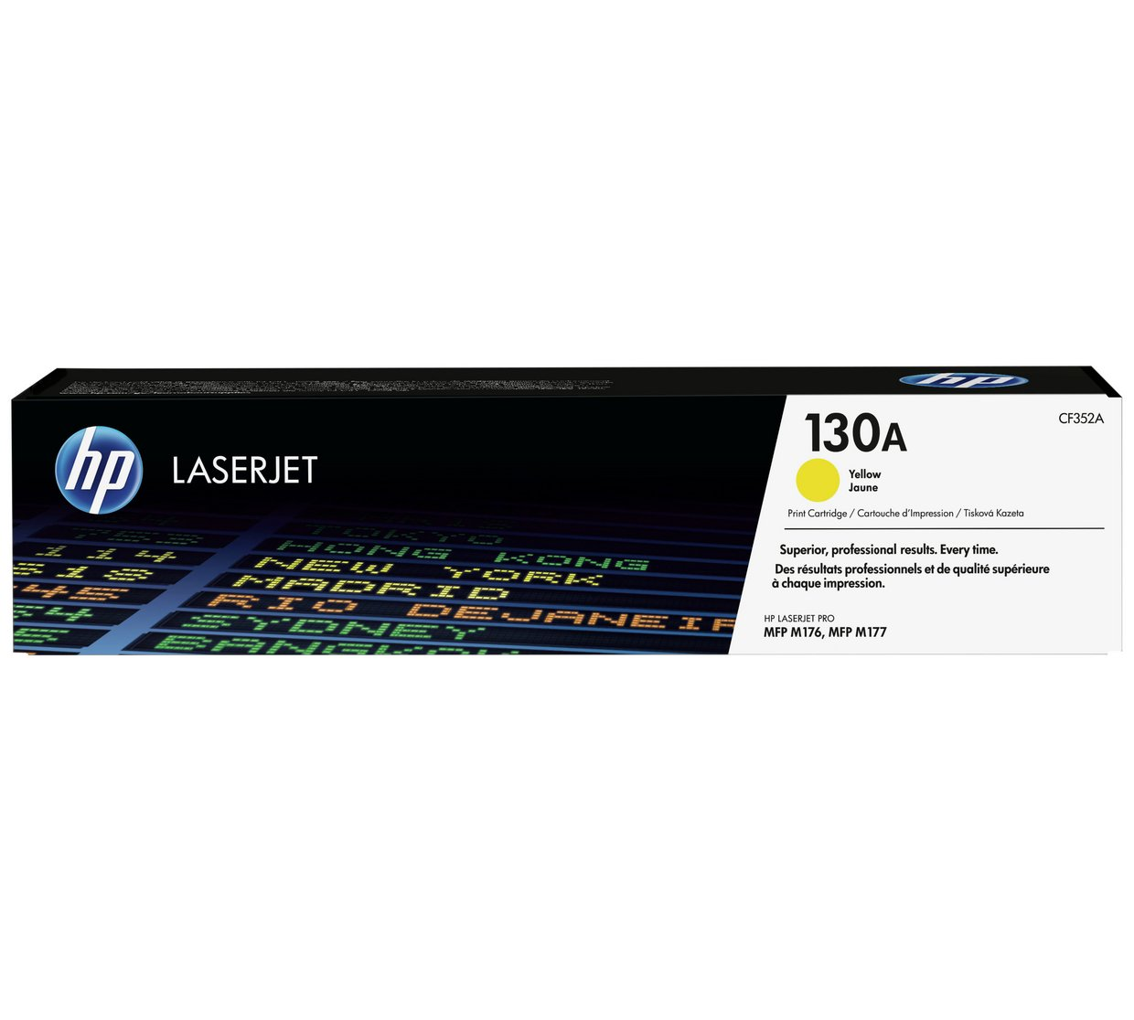 HP 130A CF352A Original Yellow LaserJet Toner
